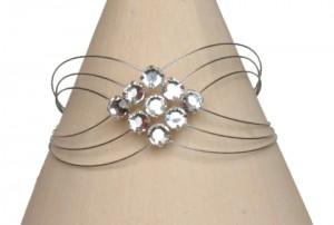 Bracelet mariage strass