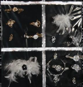 Bijoux aluminium mariage