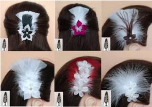 Pinces à cheveux mariage