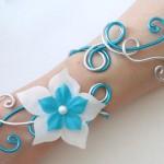 Bracelet_argent_turquoise_+_fleur_BRA310