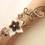 Bracelet_vanille_chocolat_+_fleur_+_perles