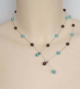 Collier_mariage_chocolat_et_turquoise